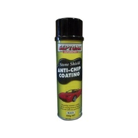 Septone Aerosol Stoneshield Black 400g - Elasticised Coating to Protect!