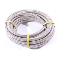 Aeroflow AN-10 Fuel/Oil/Water 100 Series Stainless Steel Braided Hose x15 Meters