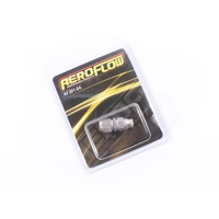 Aeroflow 200 Series -4AN Straight Teflon Stainless Steel Brake Hose End AF201-04