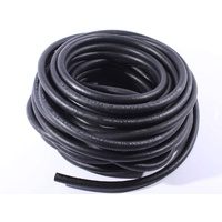 Aeroflow AN-08 oil/air/methanol 400 Series Black Push Lock Rubebr Hose x30m