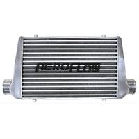 "Universal Turbo Front Mount Alloy Intercooler 3"" 600x300x76mm FMIC EVO WRX STi"