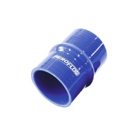 "AeroFlow AF9011-250 Straight Hump (100mm Leg) Silicone Hose - 2.50"" (63mm) Blue"
