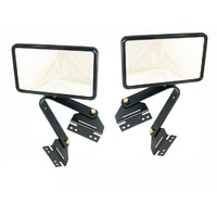 Tray Back Ute Door Mirrors Hilux Courier Triton Rodeo