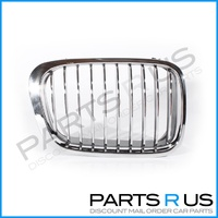 BMW 3 Series E46 98-01 4Door Sedan Chrome RHS Right Front Grille 318 323 325 328