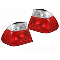BMW E46 3 Series 98-01 4dr Sedan Clear Tail Lights L+R
