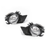 BMW E39 5 Series 01-03 Ser2 Sedan & Wagon LH+RH Set Round Fog Light Lamps TYC