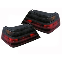 Mercedes Benz E Class W124 86-96 NEW Tinted Tail Lights 300E 260E 230E 200E