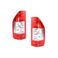 Mercedes Benz Sprinter 03-06 Van/Bus Red & Clear LH+RH Set Tail Light Lamps Depo