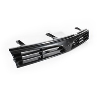 Mitsubishi Lancer Grill 96-98 CE 4Door Sedan Black Front Center Grille 97