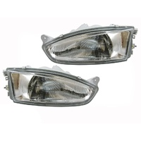 Mitsubishi CE Mirage & Lancer Headlights 2dr Coupe 96 97 98 Quality ADR