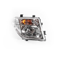 Nissan Navara 05-07 D40(M) Ser1 2WD & 4WD Dual Cab Ute RHS Right Headlight Lamp