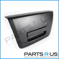 Nissan Navara Tail Gate Handle 05-14 D40 Ute Black Plastic Rear  & Surround