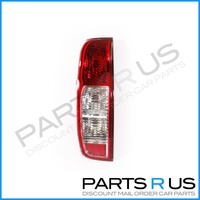 Nissan Navara D40 05-15 Ute Red & Clear LHS Left Tail Light Lamp
