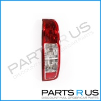 Nissan Navara D40 05-15 Ute Red & Clear RHS Right Tail Light Lamp