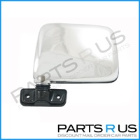 Nissan Patrol GQ LHS Left Chrome Skin Mount Door Mirror