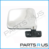 Nissan Patrol GQ RH Right Chrome Skin Mount Door Mirror
