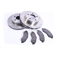 Ford AU Falcon / Fairmont / XR6 / XR8 Front Disc Brake Rotors & Pads Set 00-03