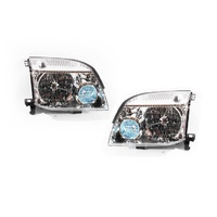 Nissan X-Trail 01-07 T30 Xtrail Wagon Front Clear LH+RH Set Headlight Lamps TYC