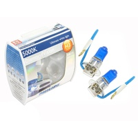 Genuine Philips Diamond Vision H3 Headlight Bulbs / Fog Light Globes Blue Set