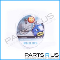 Philips XP Moto H4 Racing Performance Single Upgrade Headlight Bulb Motorcycle