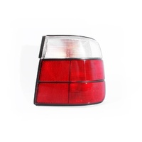 BMW E34 5 Series 88-96 4Door Sedan Red & Clear RHS Right Tail Light Lamp Depo