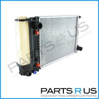 BMW E34 Radiator 5 Series 520i 525i 6 Cyl Petrol Automatic 88-92 New 89 90 91
