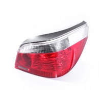BMW E60 5 Series & M5 03-06 Sedan Red & Clear RHS Right Tail Light Lamp