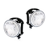 Ford Falcon 02-08 BA BF XR6 XR8 & Territory Clear LH+RH Set Fog Spot Light Lamps