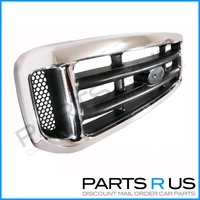 Ford F Truck Grill F250 F350 Super Duty Chrome Grille 01 02 03 04 05 06 New!!!