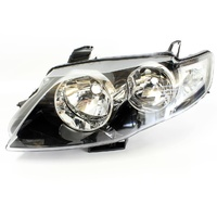 Ford FG Falcon BLACK Headlight XT G6 G6E LH NEW LEFT LHS Head Light 08 09 10 11