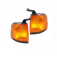 Ford Courier PE 99  00 01 02 Ute LHS RHS Corner Indicator Light Quality ADR Pair
