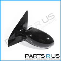 Ford Focus 02-04 LR Hatch & Sedan Black LHS Left Electric Door Mirror 03 New!