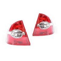 Ford Focus LS/LT 05-09 4Door Sedan Red & Clear LH+RH Set Tail Lights Genuine