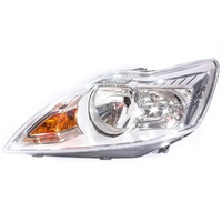 Ford Focus LV 4/09-4/11 Hatch & Sedan LHS Headlight CL/LX Silver (Not XR5) Left