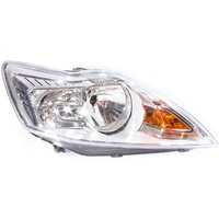 Ford Focus LV 4/09-4/11 Hatch & Sedan RHS Headlight CL/LX Silver (No XR5) Right