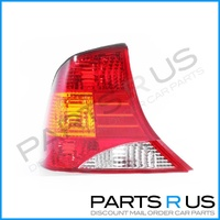 Ford Focus LR 02-04 4Door Sedan Red Amber & Clear LHS Left Tail Light ADR