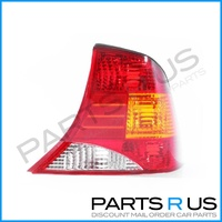 Ford Focus LR 02-04 4Door Sedan Red Amber & Clear RHS Right Tail Light ADR
