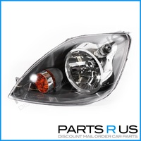 Ford Fiesta 05-08 WQ & XR4 3&5Door Hatch Black LHS Left Headlight Lamp 06 07