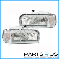 Ford XF Falcon & XG Ute New Clear Pair Of Headlights