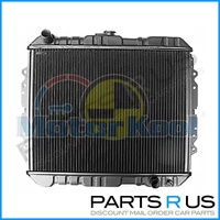 Heavy Duty Holden Rodeo TF 2.8L Diesel MANUAL Brass Copper Core Radiator 88-97