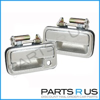 Holden TF Rodeo Door Handles 88-03 Pair Of Chrome Front Left & Right