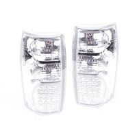 Holden VT VX VU VY VZ Wagon & Ute 97-08 Pair Clear LED Altezza Tail Light Lamps