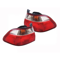 Honda Accord Tail Lights CG 6th Gen 97 98 99 00 01 02 03 Sedan LH+RH Pair Lamps