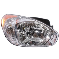 Hyundai Accent Headlight 3/4 Door 06-09 Right RH New ADR 07 08 09 Head Lamp