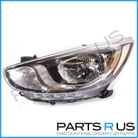 Hyundai Accent Headlight Left 11-13 RB Models LHS 12 13 Quality ADR