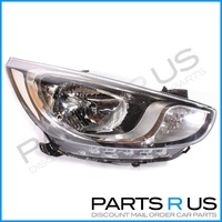 Hyundai Accent Headlight Right 11-13 RB Models RHS 12 Quality ADR