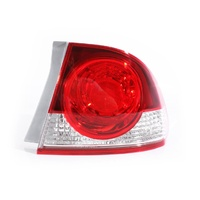 Honda Civic 06-08 FD Series1 Sedan Red & Clear RHS Right Tail Light Lamp ADR
