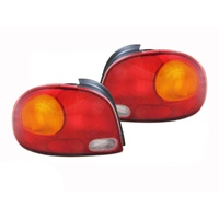 Hyundai Excel Tail Lights 94-97 X3 Hatch Back Tail Lamps Left & Right 3&5 Door