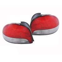 Hyundai X3 Excel 97-00 3 & 5 Dr Hatch Tail Lights Pair