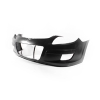 Hyundai i30 FD 07-12 Hatch & Wagon Black/Grey Plastic Front Bumper Bar Cover
